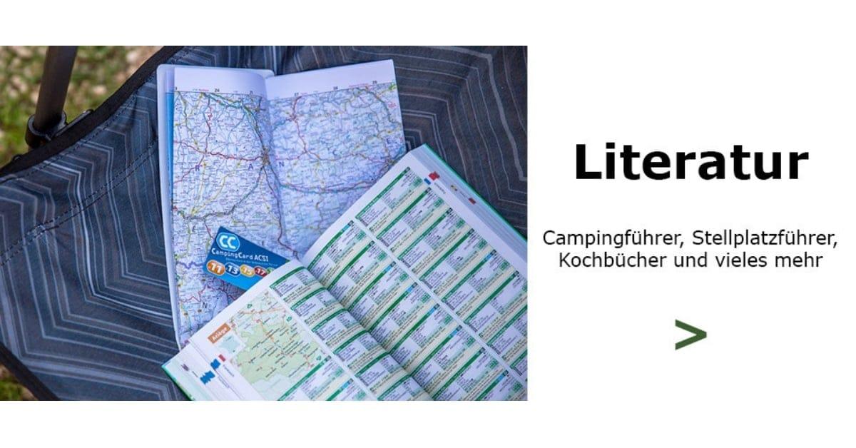 Camping Literatur Campingführer