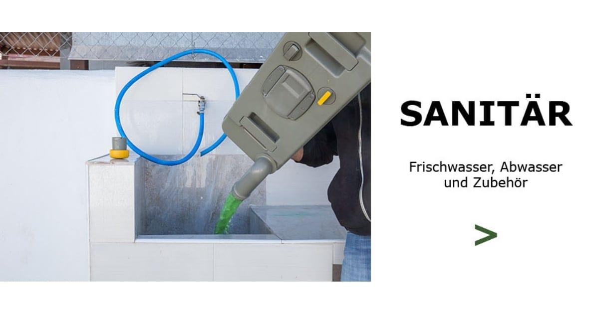 Wasser & Sanitär von Campingprodukte Schweiz