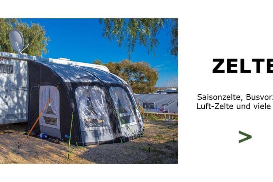Zelte und Vorzelte von Campingprodukte Schweiz